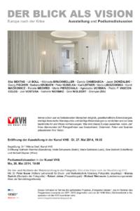 Einladung Ausstellung Blick als Vision