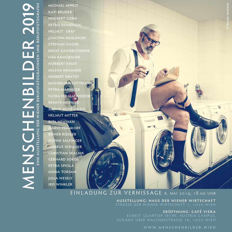 Menschbilder 2019_Neulich im Waschsalon Menschbilder 2Menschbilder 2019_Neulich im Waschsalon mit Model Martino Fotocredit: Medwed-people